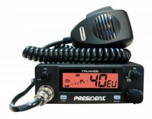 CB vozidlová radiostanice PRESIDENT TRUMAN
